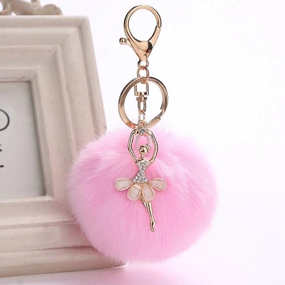 non Handbags - Pom Pom keychains for Purse